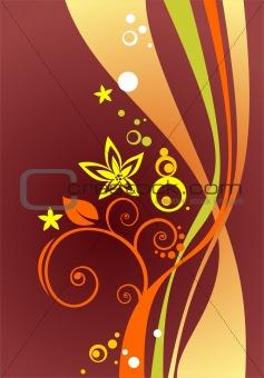 claret curves background