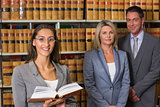 Lawyers in the law library