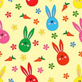 Seamless pattern with Easter motif