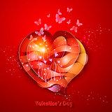 Valentine's Day Greeting Card.