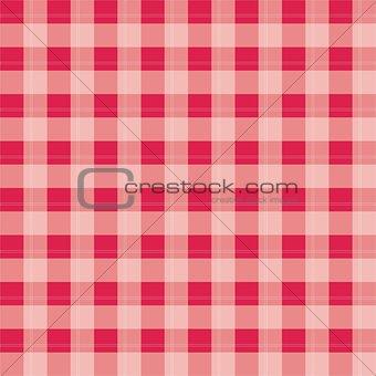 Tile vector pink plaid background