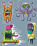Graffiti Monsters
