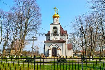 Church of the Holy Princess Olga. Kaliningrad, Russia