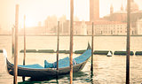 Venice Gondola Morning Glow