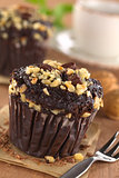 Chocolate-Walnut Muffins