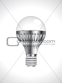 abstract detailed led bulb