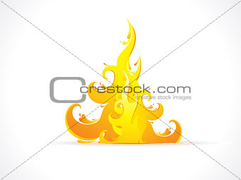 abstract artistic detailed flame background