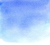 Grunge Blue Watercolor