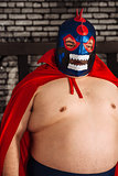 Large Mexican wrestler