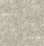 Hand-Drawn Doodle Seamless Background Pattern