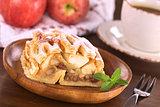 Apple Strudel with Raisins