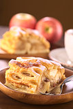 Apple Strudel with Raisins