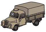 Oold military truck
