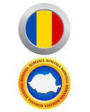 button as a symbol ROMANIA