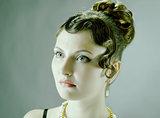 Woman retro revival portrait.