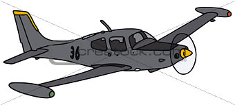 Small military watch aircraft