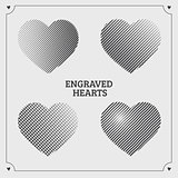 Engraved hearts