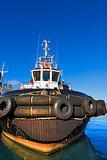 Tugboat in the Harbor