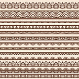 Set of Henna Borders