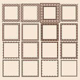 Set of Square Frames
