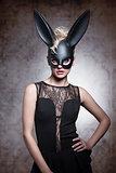 Black, sexy rabbit