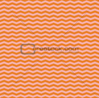 Tile pink and orange zig zag vector pattern