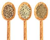 hemp seed, hearts and protein powder
