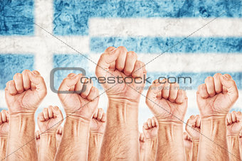 Greece Labour movement, workers union strike