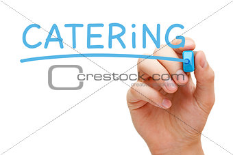 Catering Blue Marker