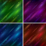 Set empty space seamless backgrounds