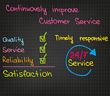 Customer Service improvement