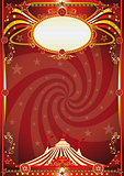 circus red vortex background