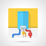 Colorful vector icon for water boiler