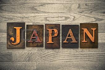 Tokyo Wooden Letterpress Concept