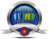Archery Metal Icon