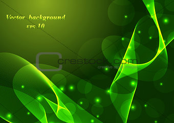 Abstract colorful background smoke wave.