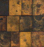 Stained Wooden Printing Blocks