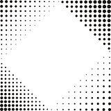 Corner halftone textures