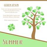 Summer season card