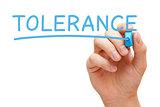 Tolerance Blue Marker