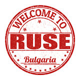Welcome to Ruse stamp