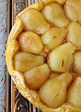French Tarte Tatin  with pears and caramel