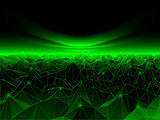 Computer Cyberspace Background