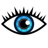 Blue Eye Icon