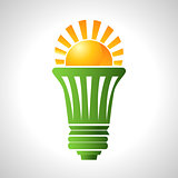Solar Energy Efficient Lightbulb