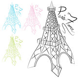 Eiffel Tower Set