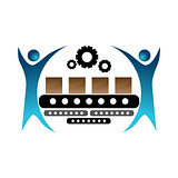 Manufacturing Team Icon