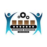 Manufacturing Team Icon
