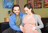 Expecting Mother with Father