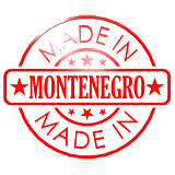 Made in Montenegro red seal